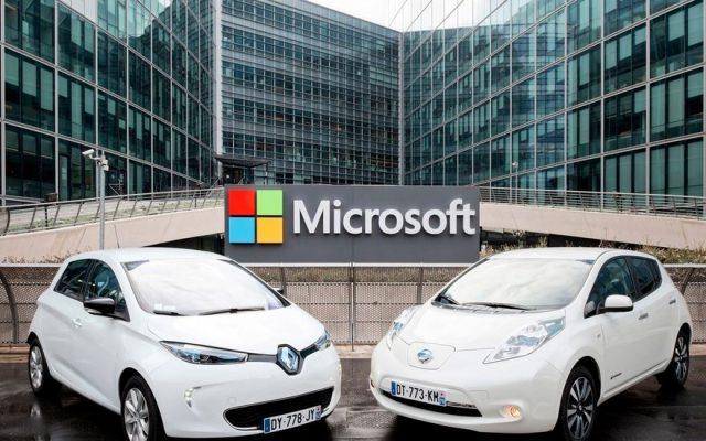 Microsoft Azure va sta la baza viitoarele generații de mașini conectate Renault și Nissan