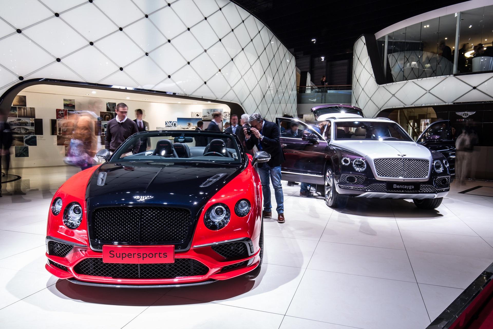 Bentley Supersports & Bentayga Mulliner