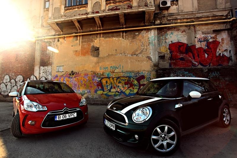 "Mini Cooper S este un ""big boy toy"" pentru europenii cu stil in timp ce DS3 reprezinta o alternativa demna de luat in seama"
