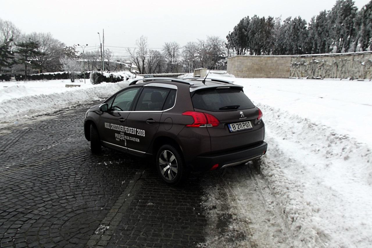 Privit din spate, 2008 isia rata clar apartenenta la familia Peugeot actuala