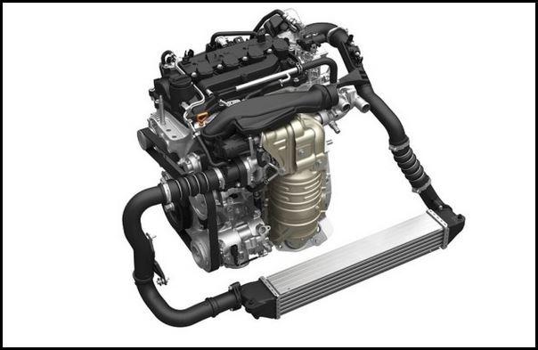 Motorul de un litru VTEC Turbo