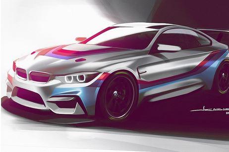 Posibil profil al noului BMW destinat competițiilor sportive