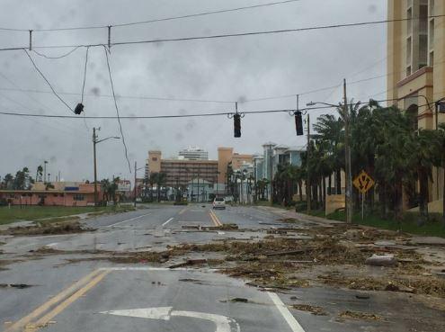 Daytona Intеrnаtіоnаl Speedway după uraganul Matthew
