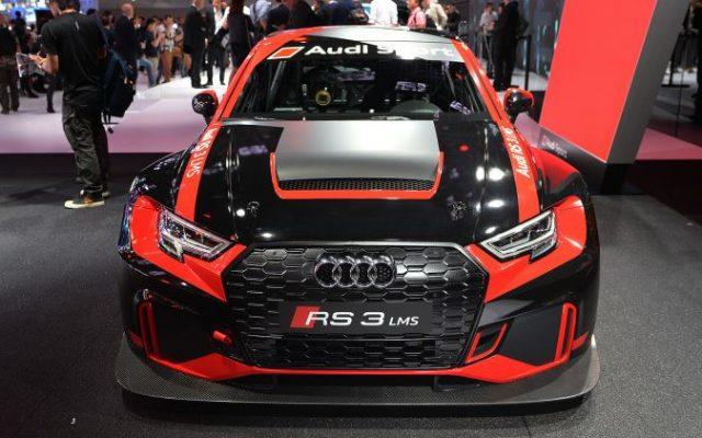 Versiunea de curse a sedanului Audi RS 3 e gata de start