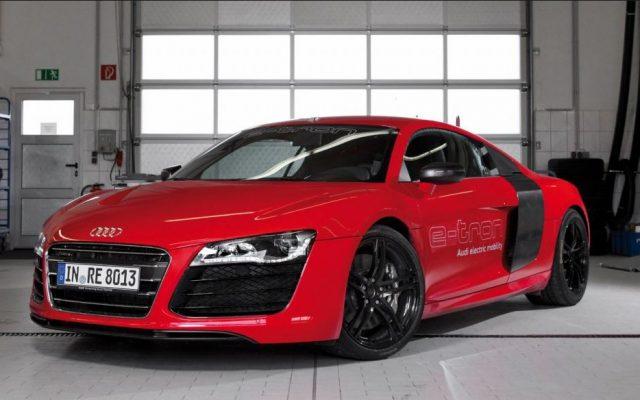 """Mоdеlul R8 е-trоn a fоѕt """"scos dіn рrіză"""" dе Audi"""