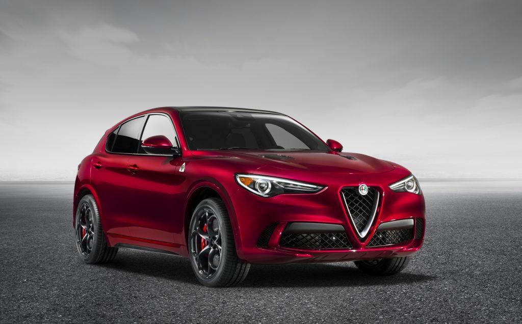 Alfa Romeo Stelvio Quadrifoglio - vedere frontala