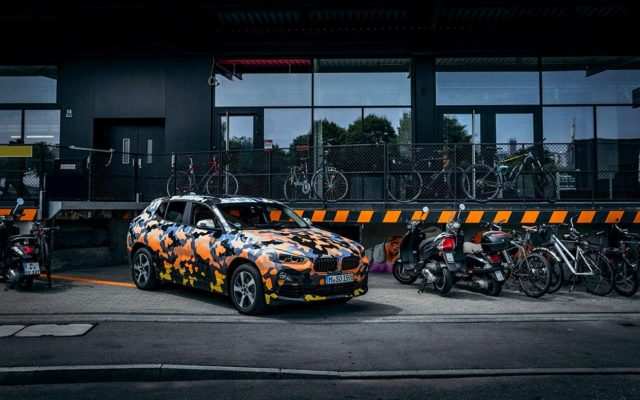 BMW X2 apare in teaser-ul oficial
