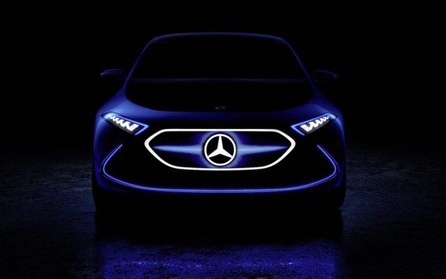 EQ A, noul autoturism electric de la Mercedes