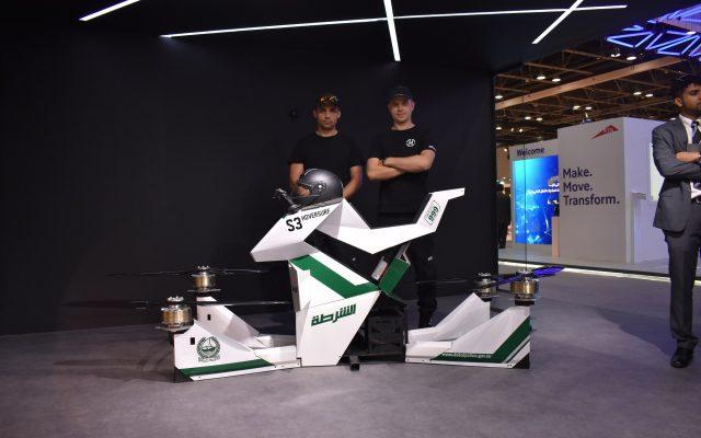 Dubai va introduce hoverbike-urile de Politie
