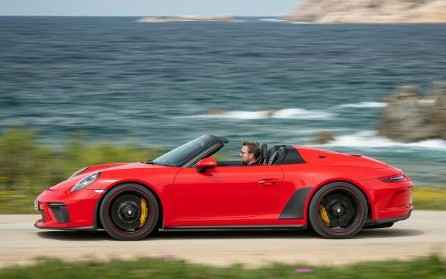 Una calda: Porsche 911 Speedster poate fi comandat incepand de azi