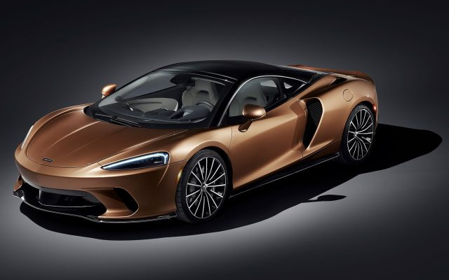 McLaren a prezentat noul GT