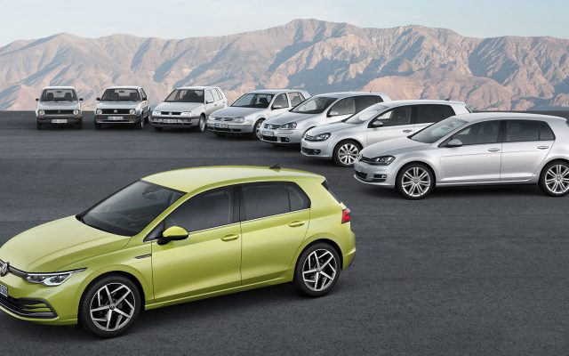 Volkswagen prezinta Golf  generatia 8